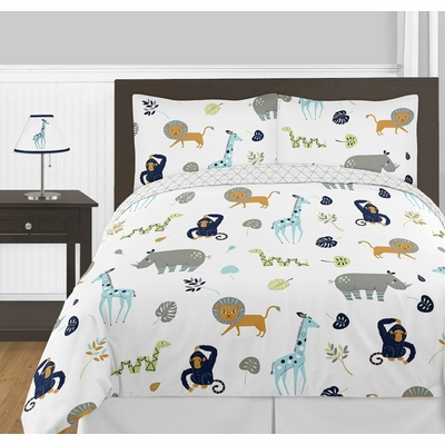 Mod Jungle Full/Queen Bedding Collection