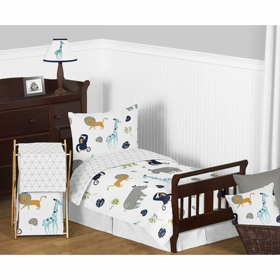 Mod Jungle Toddler Bedding Collection