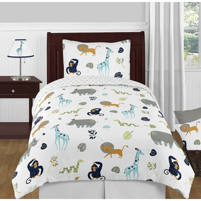 Mod Jungle Twin Bedding Collection