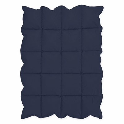 Navy Blue Baby Down Alternative Comforter / Blanket