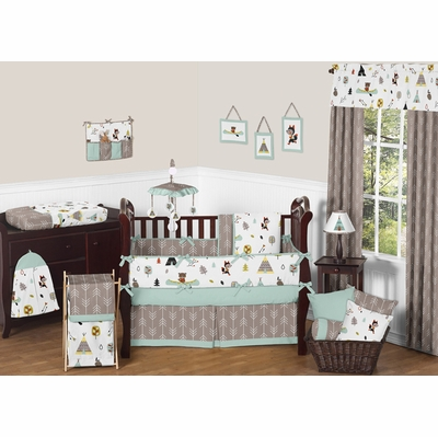 Outdoor Adventure Collection Crib Bedding Collection
