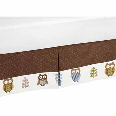 Owl Queen Bed Skirt