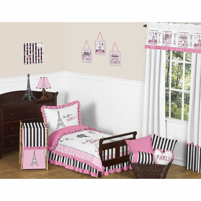 Paris Toddler Bedding Collection