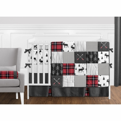 Rustic Patch Collection Crib Bedding