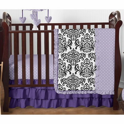 Sloane 4 Piece Bumperless Crib Bedding Collection
