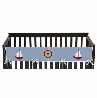 Come Sail Away Collection Long Rail Guard Cover