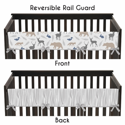 Woodland Animals Collection Long Rail Guard Cover