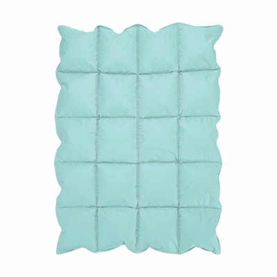Turquoise Blue Baby Down Alternative Comforter / Blanket