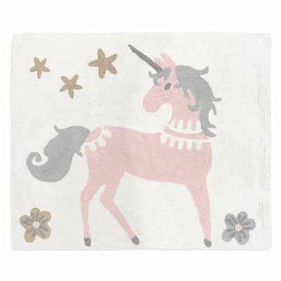 Unicorn Collection Accent Floor Rug