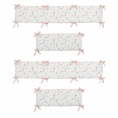 Unicorn Collection Crib Bumper Pad