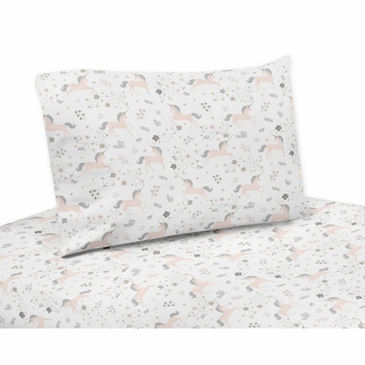 Unicorn Collection Queen Sheet Set