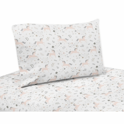 Unicorn Collection Twin Sheet Set