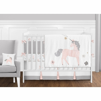 Unicorn Crib Bedding Collection