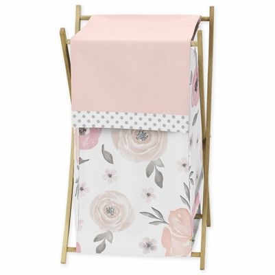 Watercolor Floral Pink and Grey Collection Hamper