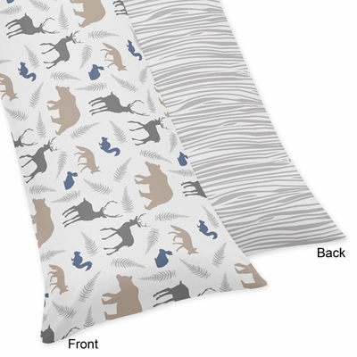 Woodland Animals Collection Full Length Body Pillow Cover