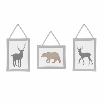 Woodland Animals Collection Wall Hangings