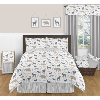 Woodland Animals Full/Queen Bedding Collection