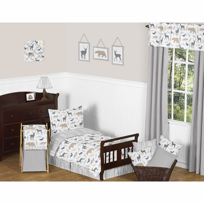 Woodland Animals Toddler Bedding Collection
