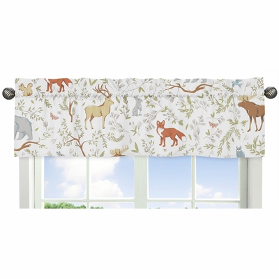 Woodland Toile Collection Window Valance