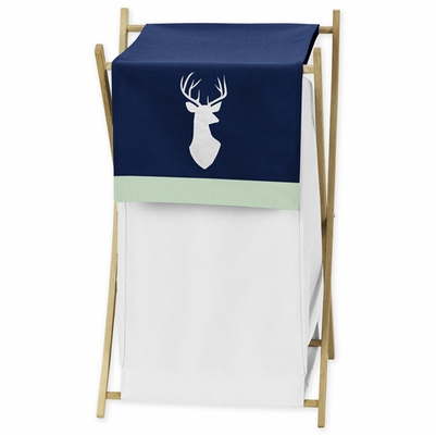 Woodsy Navy, Mint and Grey Collection Hamper