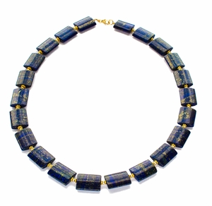Midnight Sky Lapis Necklace