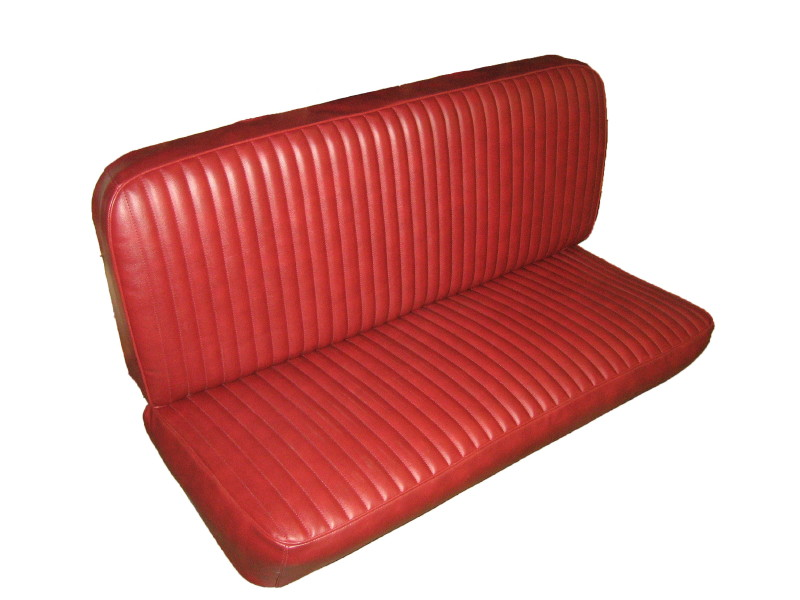 Jeep truck front bench seat upholstery kit with
