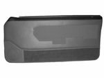1988-1989 Ford Mustang Convertible Door Panel Set With Electric Window Option, DP8789P