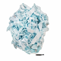 100 Pack Light Blue Hair Ties