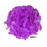 100 Pack Purple Hair Ties
