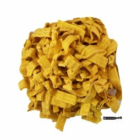 100 Pack Shimmer Gold Hair Ties