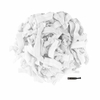 100 Pack White Hair Ties