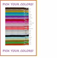 100 Stretchy Headbands Elastic No Tug Ribbon  U Pick Colors
