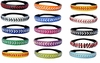 12 Leather Softball Seam Stitch Headband - 12 Pack