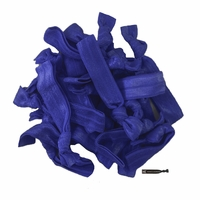 20 Pack Hair Ties Navy