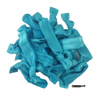 20 Pack Hair Ties Teal
