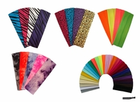 24 Cotton Stretch Headband Set 24