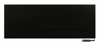 "3"" Cotton Headband Black"