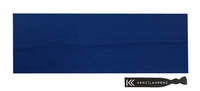 "3"" Cotton Headband Navy"