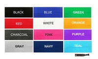 """3"""" Cotton Headbands 250 Pack You Pick Your Colors"""