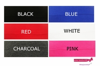 """3"""" Cotton Headbands 100 Pack You Pick Your Colors"""