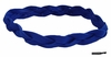 Braided Headband No Slip Blue