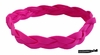 Braided Headband No Slip Hot Pink