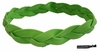 Braided Headband No Slip Grip Lime