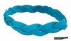 Braided Headband No Slip Grip Teal