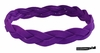 Braided Headband No Slip Purple