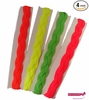 Braided Headbands 4 Pack Neons