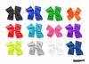 DOUBLE Clip Bows Assorted Pack of 12