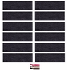 Cotton Headbands 12 Pack Charcoal