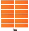 Cotton Headbands 12 Pack Orange