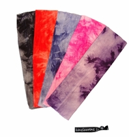 Cotton Headbands 5 Pack Tie Dye